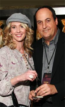 Alexandra Leighton with Jeff Owen