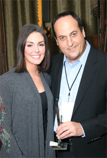 Taylor Cole with Jeff Owen