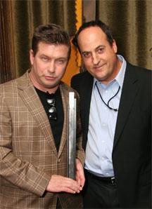 Stephen Bladwin with Jeff Owen