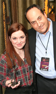 Jennifer Stone with Jeff Owen
