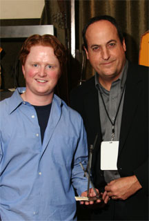 Christopher Carley with Jeff Owen