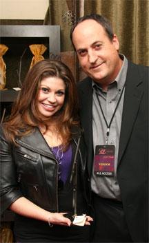 Danielle Fishelle with Jeff Owen