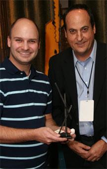 Martin Sopha with Jeff Owen
