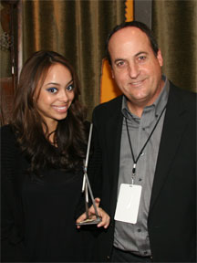 Amber Stevens with Jeff Owen