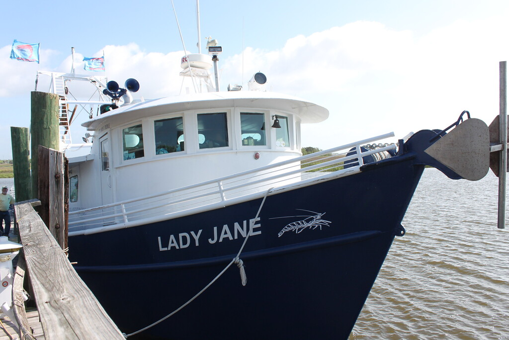 Lady Jane Shrimp Boat st. simon's island