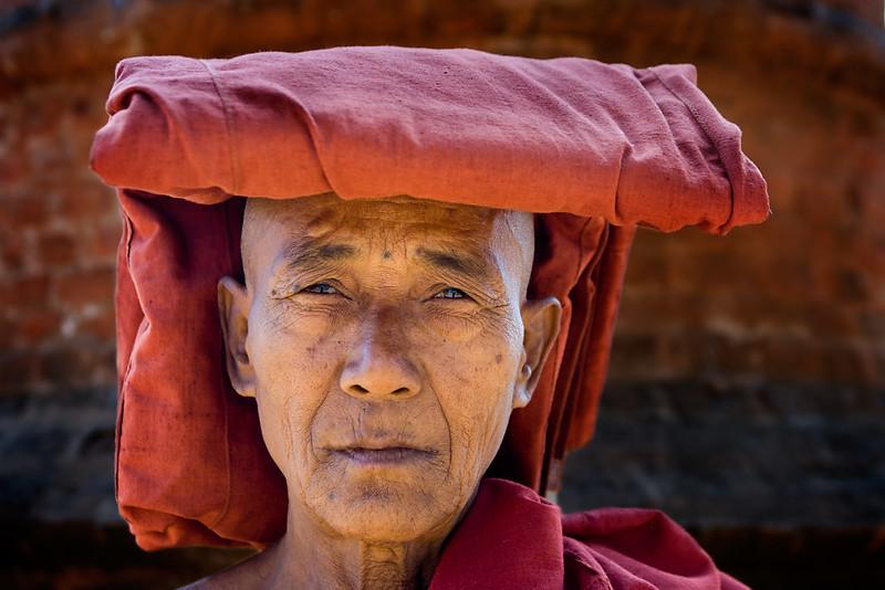 Monk. Bagan.