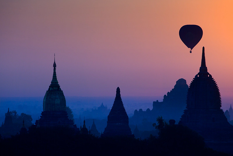 Early morning, Bagan.