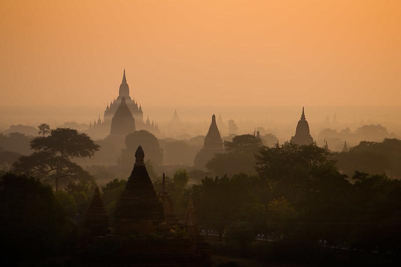 Pagodas, Bagan.