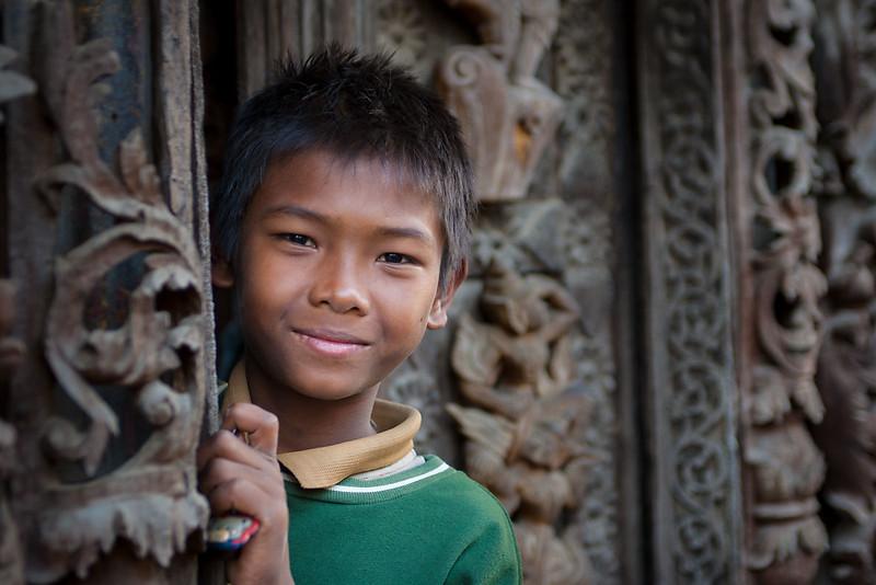Shwenandaw Kyaung Monastery, Mandalay.