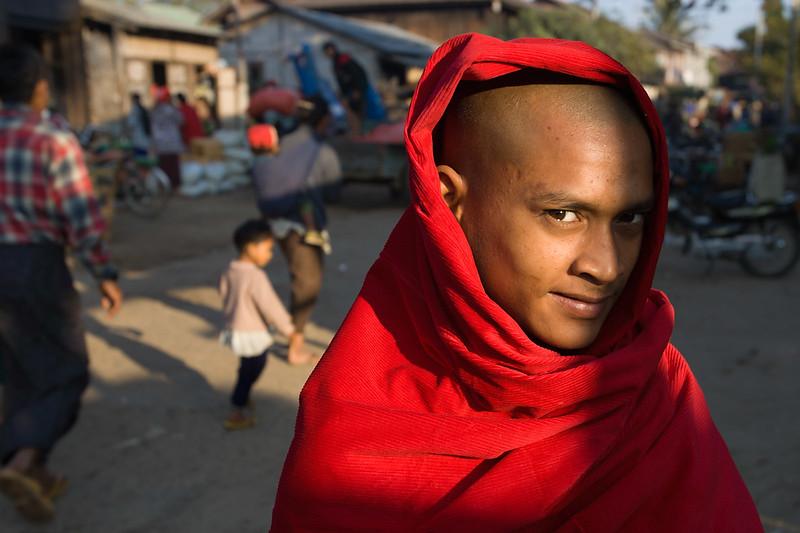 Monk, Bhamo.