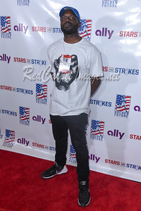 DETROIT, MI - SEPTEMBER 11: Golden Tate's 3rd Annual Stars and Strikes Bowling Event on September 11, 2017 in Detroit, Michigan.  (Photo by Aaron J. Thornton / RedCarpetImages.net)