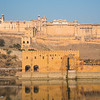 Amber Fort reflection