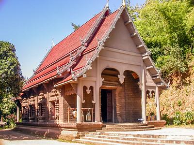 Wat Phra That Pu Khao, Baan Sop Ruak, Golden Triangle, Thailand