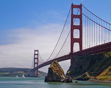 Golden Gate Bridge & San Francisco