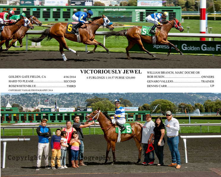 VICTORIOUSLY JEWEL