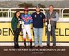 2021 WINE COUNTRY RACING HORSEMEN AWARDS
