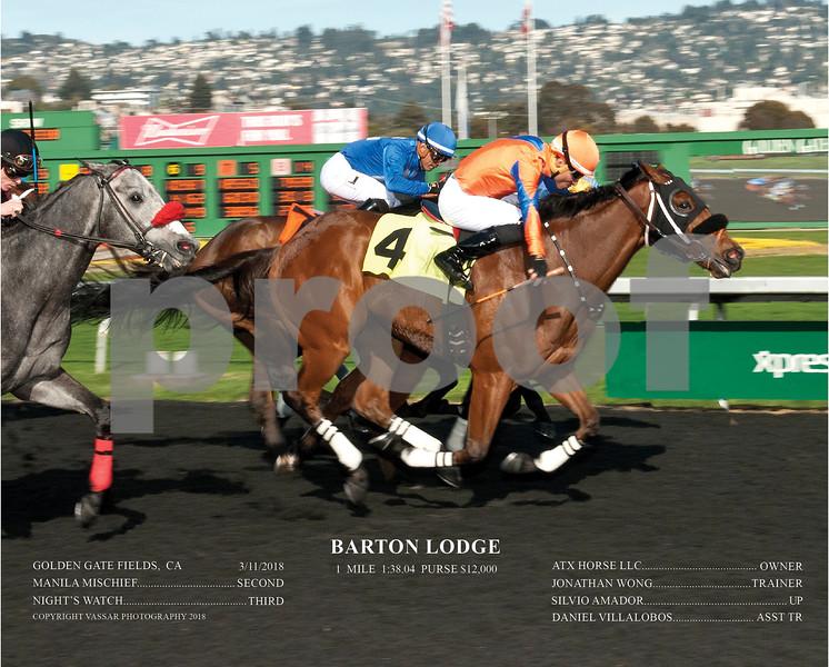 BARTON LODGE ACT