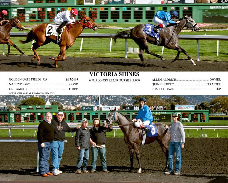 VICTORIA SHINES