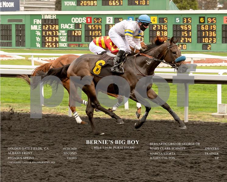 BERNIE'S BIG BOY ACT