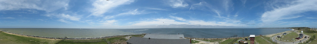 Point Lookout MD, 360 from the lighthouse
