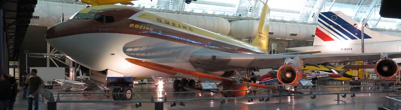 First Boeing 707