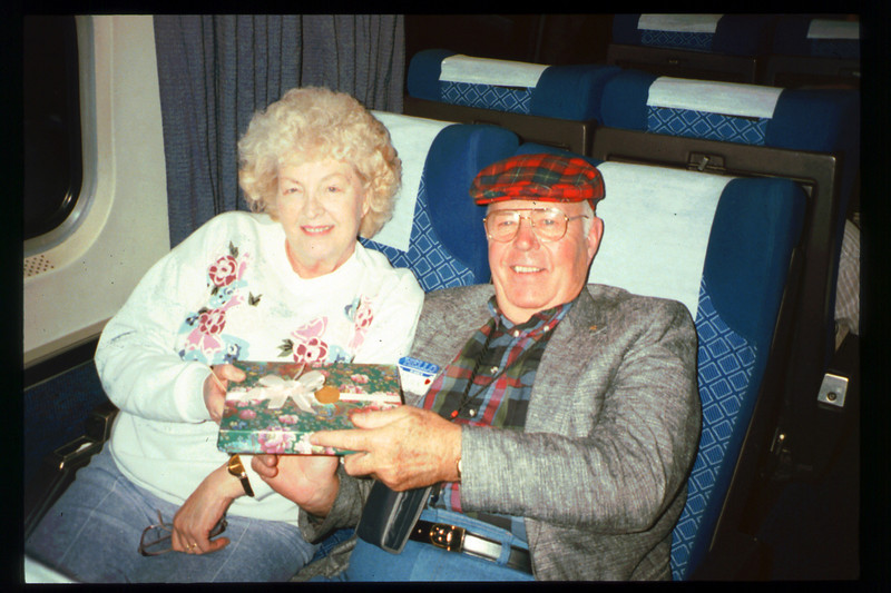 """Valentine's-themed """"Sweetheart Special"""" trip to San Diego was held Feb. 13-14, 1993. acc2005.001.1697"""
