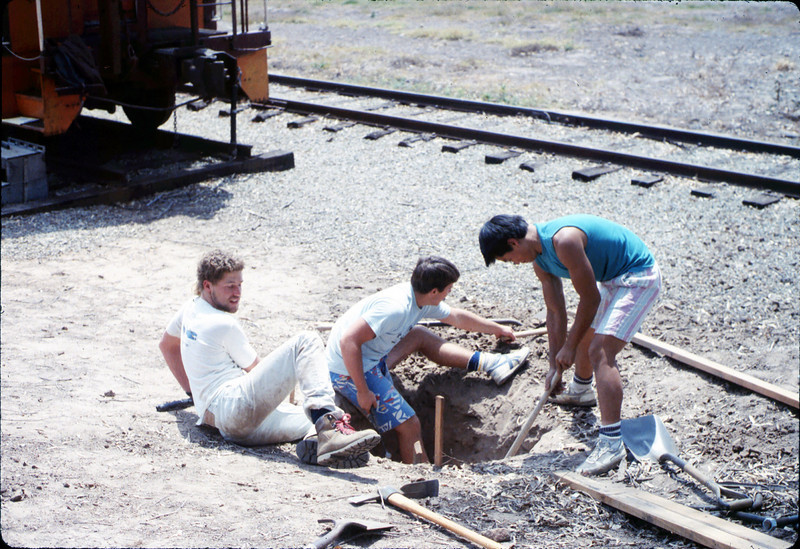 Eagle Scout project - wig-wag signal installation, Spring 1989. acc2005.001.1121