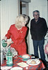 Museum Christmas Party (Phyllis Olsen and Al Volkman), 12/1989. acc2005.001.1235