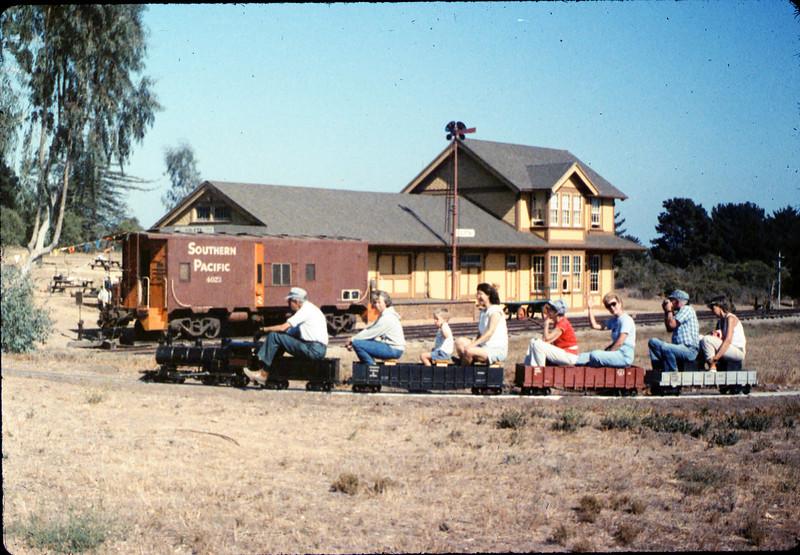 Volunteers Party, Gene Allen, Stella Kramer, Hilda Volkman, Christine Negus, 8/13/1988. acc2005.001.0999