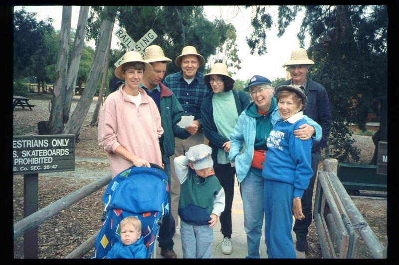 "The Spring Fundraiser (14th annual) had a ""Too-Fari Safari"" theme, May 20, 1995. acc2005.001.2067"