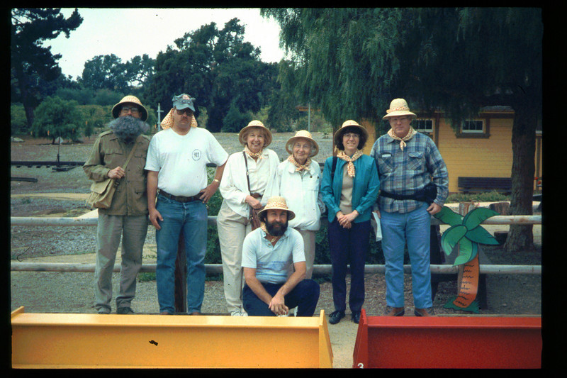 "The Spring Fundraiser (14th annual) had a ""Too-Fari Safari"" theme, May 20, 1995. acc2005.001.2061"
