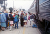 Museum leads Vieja Valley Elementary School rail trip to Glendale, 4/1989. acc2005.001.1066
