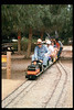 """El Tren De La Fiesta"" event (Engineer Jack Cogan) was held Aug. 7, 1993. acc2005.001.1836"