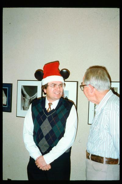 Holiday Party, Dec. 15, 1993 (Ron Ferguson and Gene Allen). acc2005.001.1912