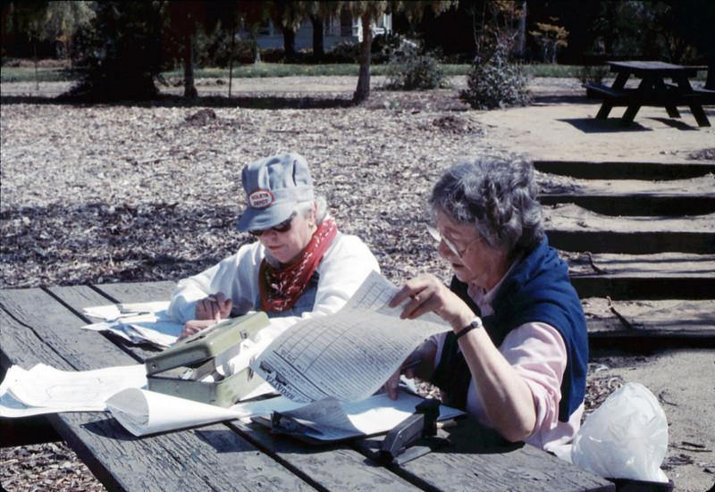 Asphalt Regatta spring fundraiser (Mildred Kern and Alma Allen), 3/17/1990. acc2005.001.1303
