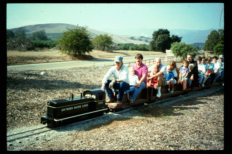 The 10th Annual Depot Day event (Ben Beede, train rides) was held on Sunday, Oct. 10, 1992. acc2005.001.1690