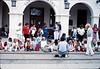 San Luis Obispo school rail trip, 5/3/1989. acc2005.001.1124