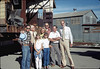 Moving Day, 11/18/1981. Paul Heuston, Steve Sullivan, Heather Coombs, Phyllis Olsen, Stephanie Coombs, Gene Allen, Londi Ciabattoni, Ray Baird. acc2005.001.0084