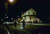 Night move, 11/18-19/1981. Michael Glassow photograph. Hollister Ave.. acc2005.001.0091F