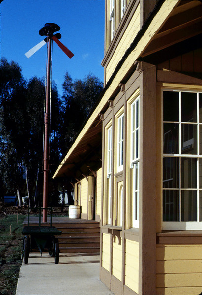 Front of Goleta Depot, 1984. acc2005.001.0440