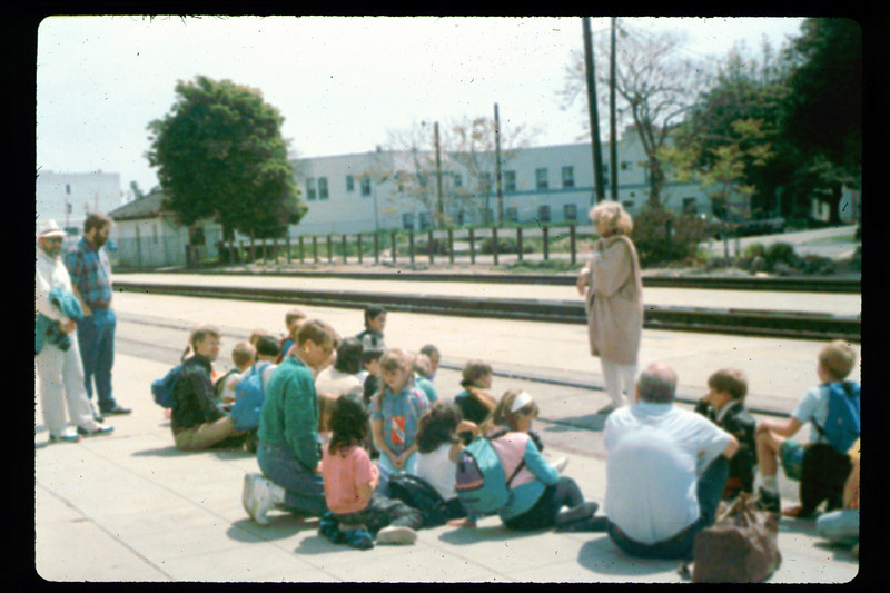El Rancho Elementary School 2nd & 3rd grades classes trip to San Luis Obispo, 4/23/1991. acc2005.001.1463