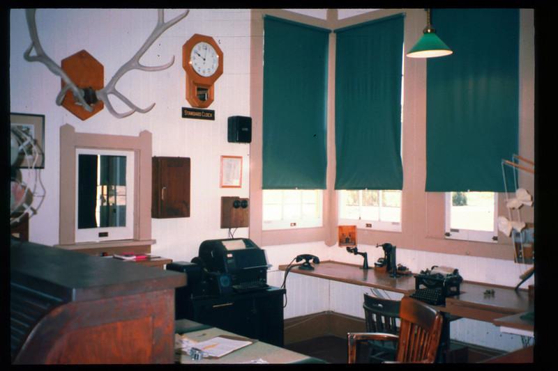 Goleta Depot's Freight Office, 1998. acc2005.001.2162
