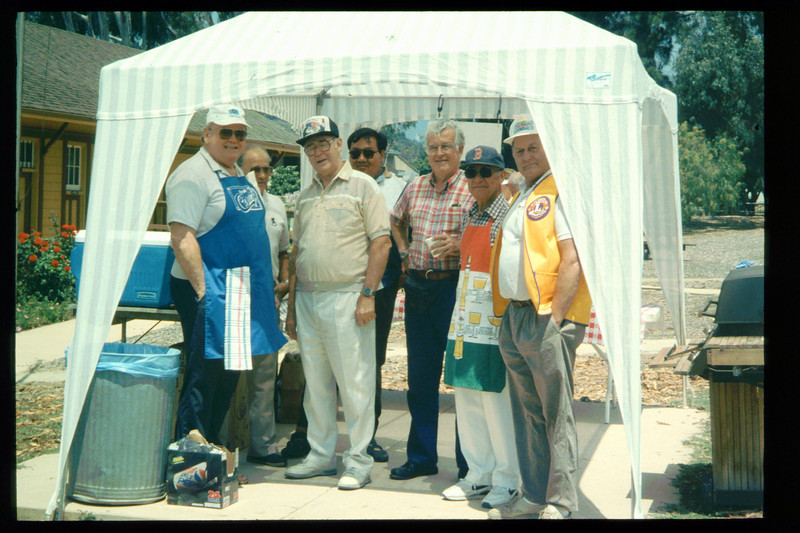 "The 1995 ""Steaming Summer"" event was held June 24, July 22, and Aug. 26 (Goleta Lions prepared food for sale to visitors). acc2005.001.2089"