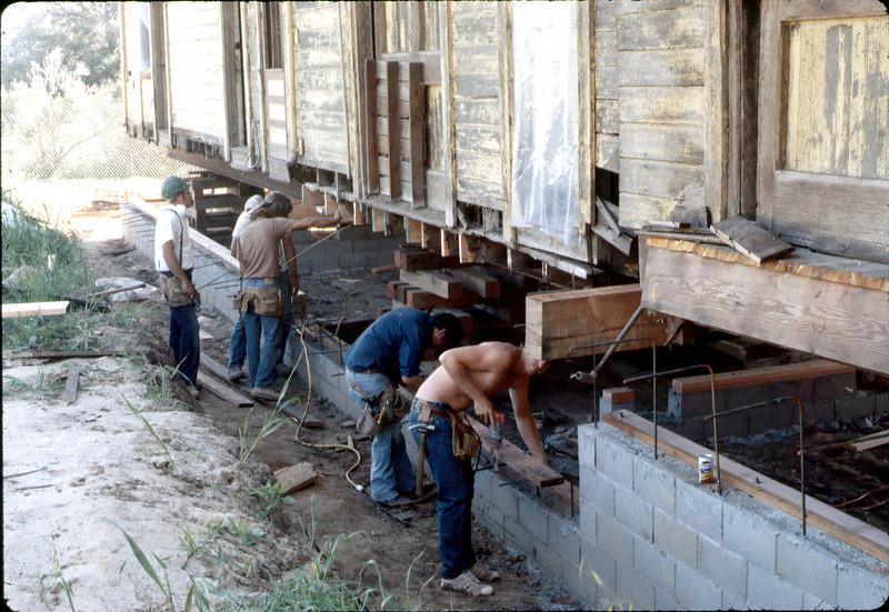 Apprentice carpenters, Local 1062, Feb. 1982. edit. acc2005.001.0153