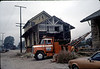 Two-story section of building ready to go, 11/13/1981. acc2005.001.0051