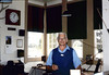 Volunteer Agent Paul Conover in Freight Office, 1986 acc2005.001.0584