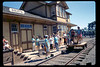 Depot Day handcar rides, 10/1990. acc2005.001.1400