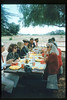 Santa Barbara-area museum directors hold a luncheon meeting at the railroad museum, Aug. 11, 1993. acc2005.001.1860