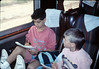 Museum leads Vieja Valley Elementary School rail trip to Glendale, 4/1989. acc2005.001.1076