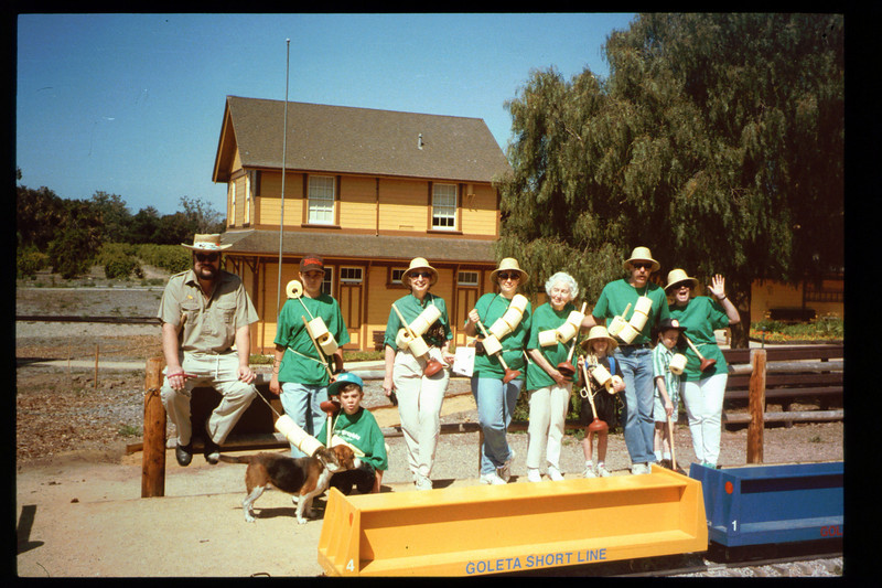 """The Spring Fundraiser (13th annual) had a """"Too-Fari Safari"""" theme for the first time on May 21, 1994. acc2005.001.1932"""